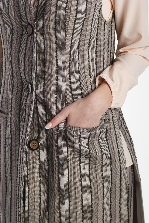 Костюм женский жилет и брюки FORLIFE