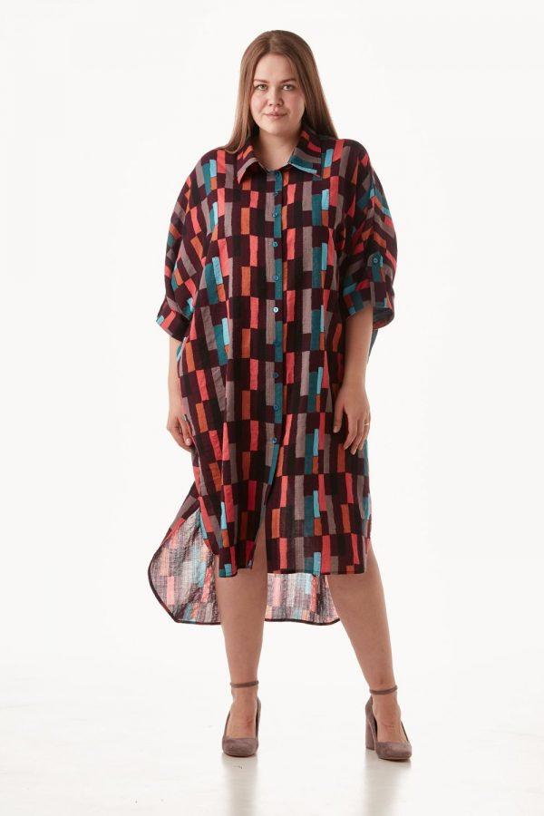 Платье-рубашка FORLIFE